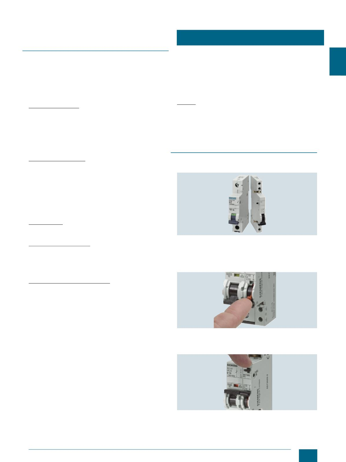 Miniature Circuit Breakers In The Off Position Without Locking Out An Entire