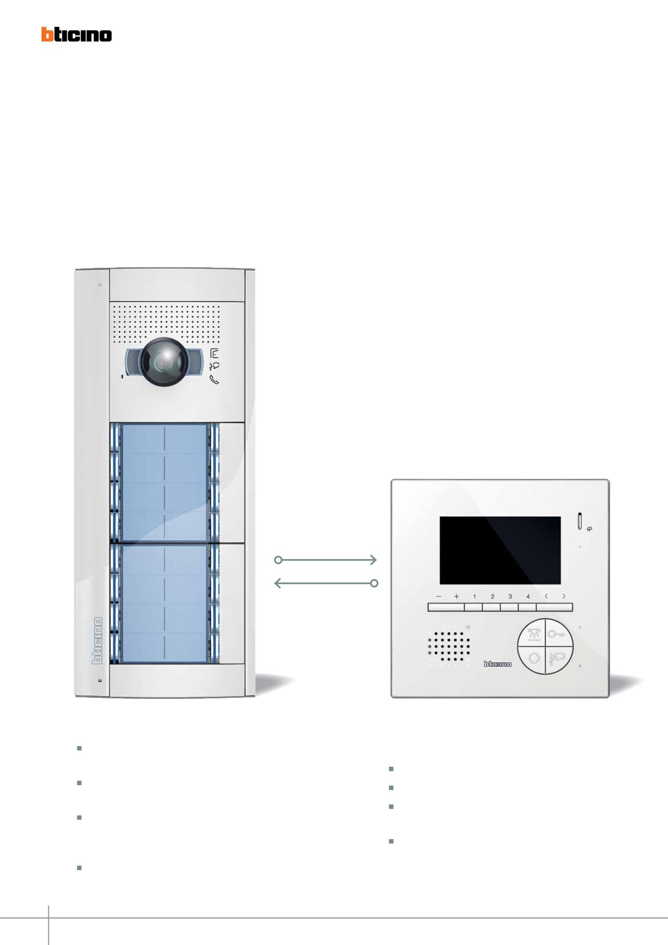 2 Wire Audio And Video Door Entry Systems