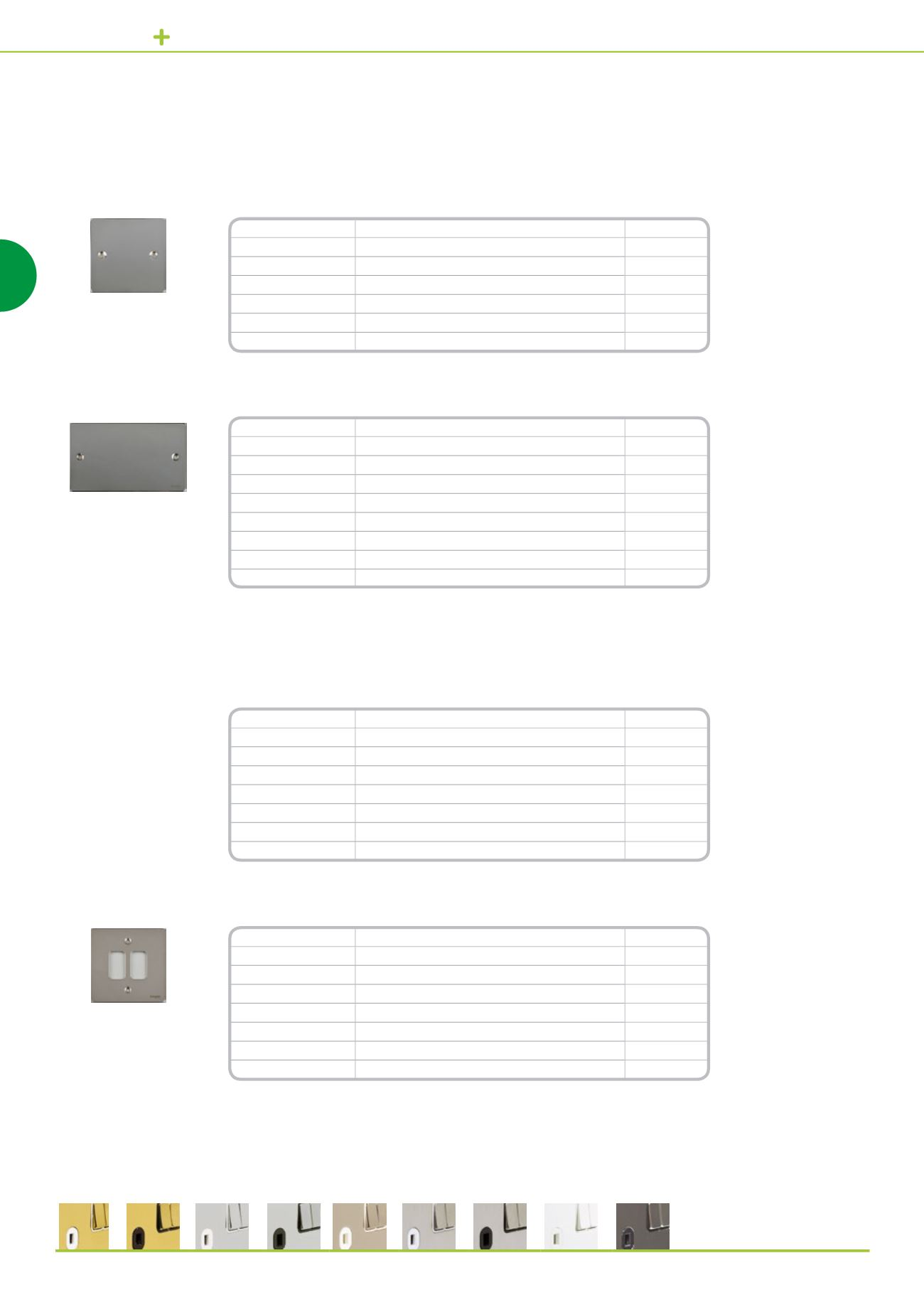 2 Gangs Pearl Nickel Pack of 1 Schneider Electric GU8220PN Ultimate Blank Plate