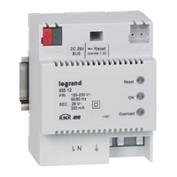 Modular power supply unit 230V~ 29 V= 320 mA 4 modules