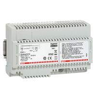 Power supply BUS technology for lighting control system 8 DIN modules