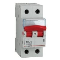 Isolating switches, contactors, bell transf