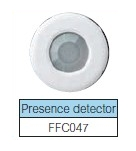Plug into lighting control unit Presence detector