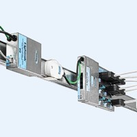 25A 2m Busbar Trunking 4P+E+Comms 2 Outlets IP4X