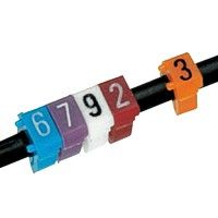 Cable marking systems and cable accessories