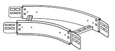 450mm 45° Flat Bend