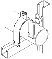 Pipe Clamp (Two Piece)