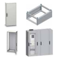 Spacial SD Steel control desk enclosures