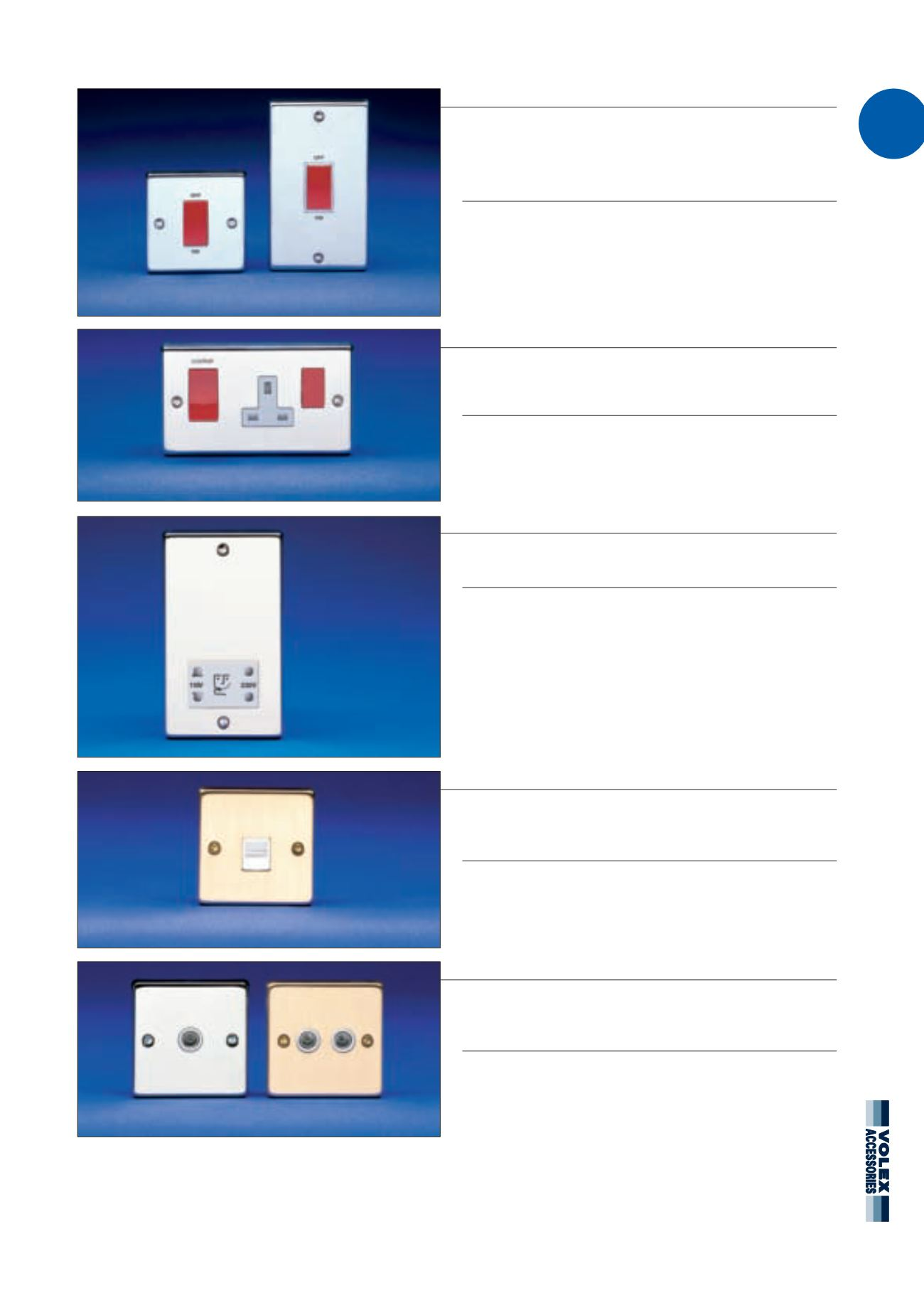 Volex Wiring Accessories Domestic Circuit Protection Shaver Socket Page Background