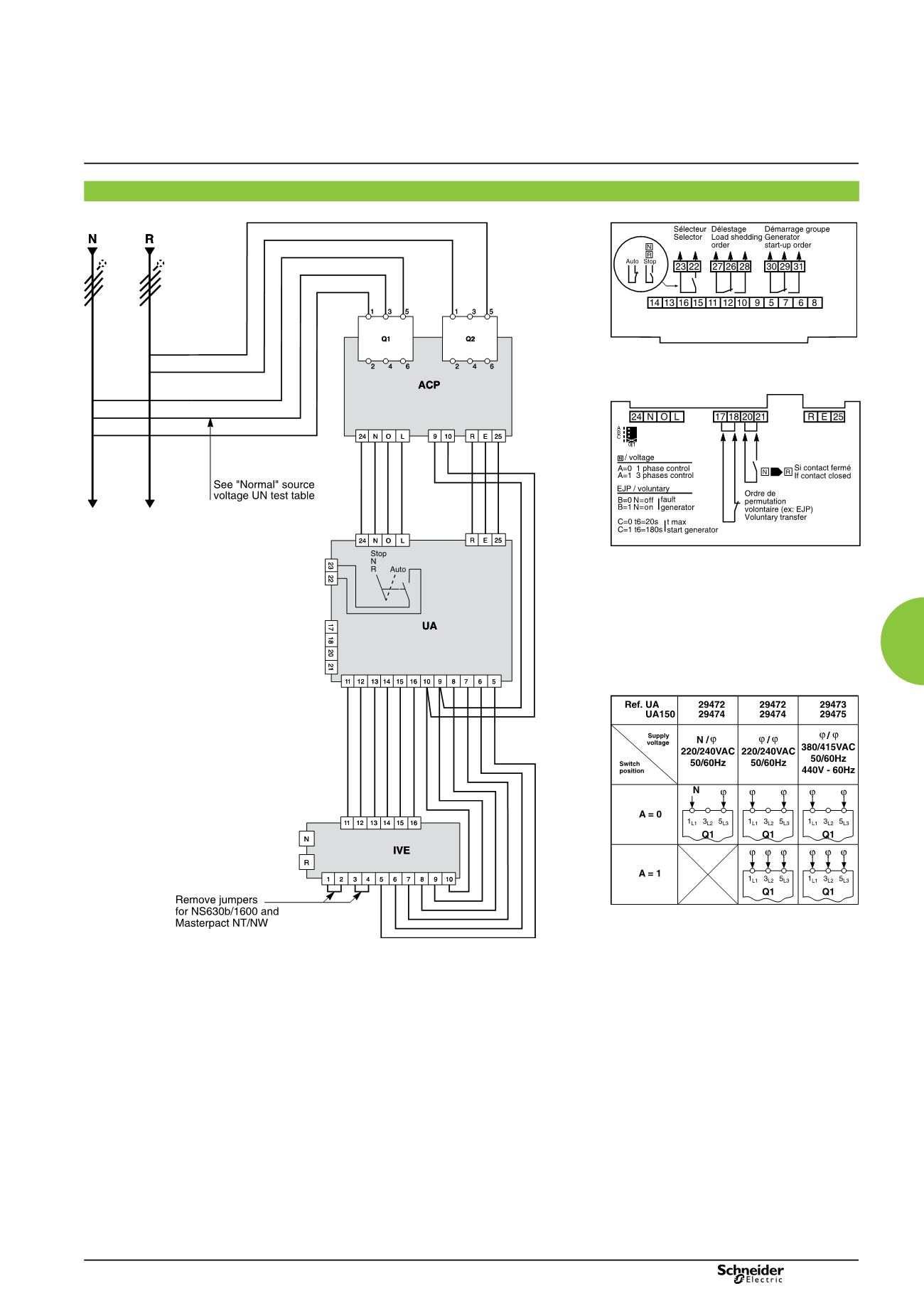Masterpact Nt And Nw Power Circuit Breakers Control For The Breaker S Page Background