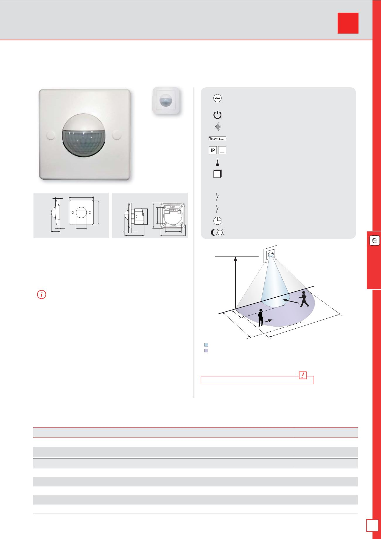 Beg Luxomat Occupancy And Motion Detectors Catalogue Sensor 2wire Install Diagram Page Background 121