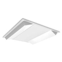 Twin bar LED panel with vacuum formed diffuser - Kosnic