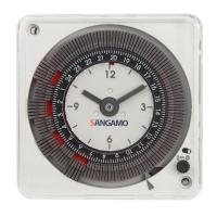 sangamo 16622 analogue timer 1 channel 24 hour without battery