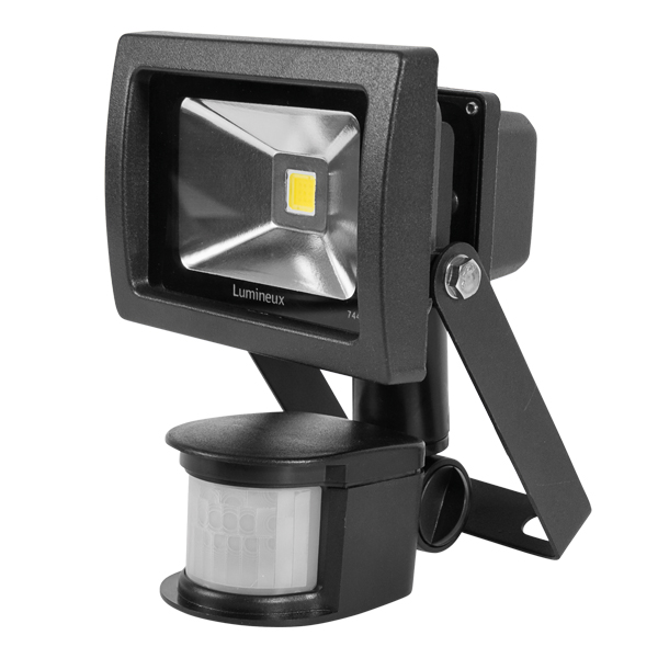 FL150 Floodlight 10W Black PIR