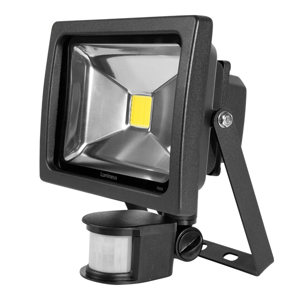 FL150 Floodlight 20W Black PIR