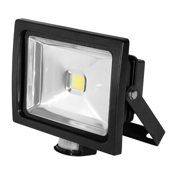 FL150 Floodlight 30W Black PIR