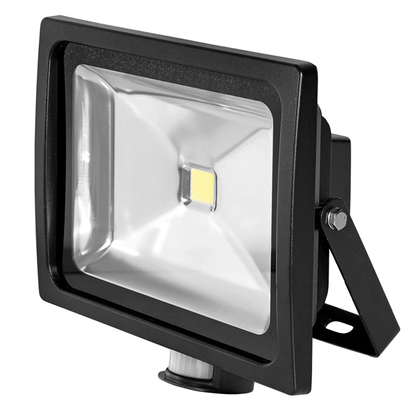 FL150 Floodlight 50W Black PIR