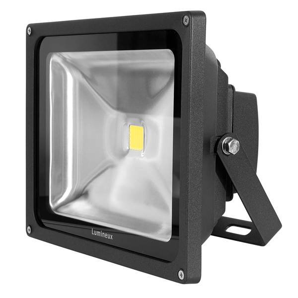 FL125 Floodlight 50W Black  Photocell