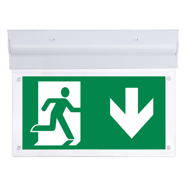 Fontburn Emergency  Exit Sign  Self-Test 3W 6000K White