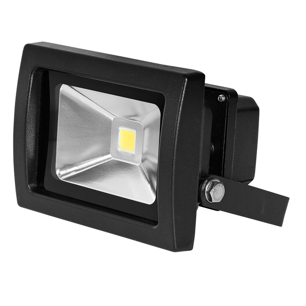 Bartley Floodlight 12-24V DC 10W Black