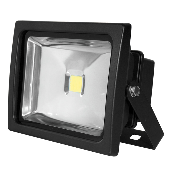 Bartley Floodlight  12-24V DC 20W Black