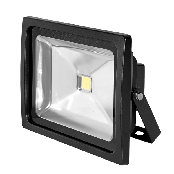 Bartley Floodlight 12-24V DC 30W Black