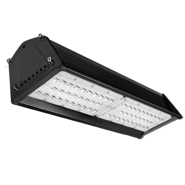 Netherton Linear Highbay 100W 5000K Black 402 Optic