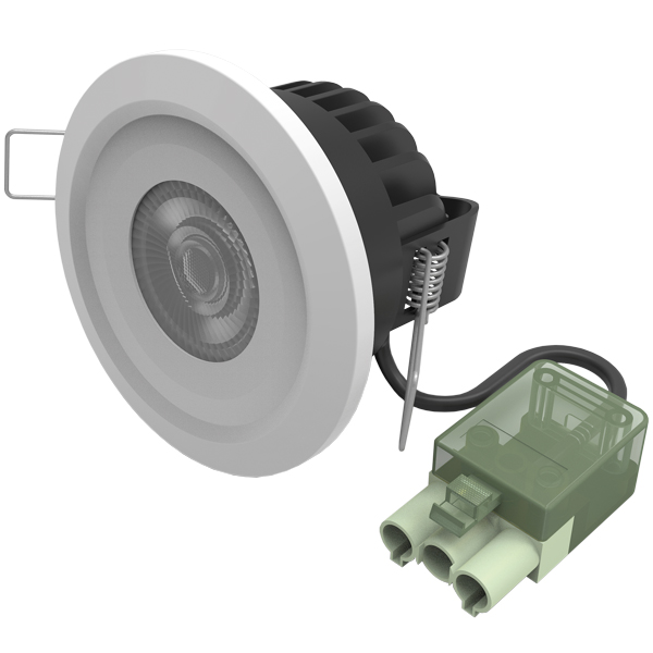 Foxcote Fire Rated Downlight 7W 3CCT White