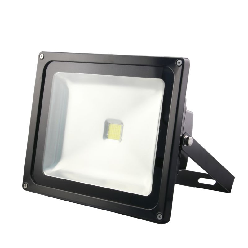 Bartley Floodlight 12-24V DC 50W Black