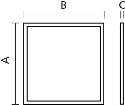 Chelburn Panel 600x600 TP (a) 32W 6000K